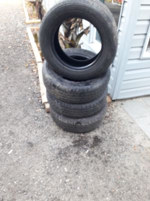4 good year gt tires p205/60r15 for Sale in Chesapeake, VA