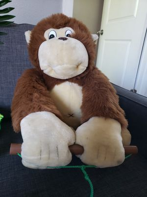 Big monkey stuffed animal for Sale in Alameda, CA