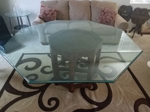 Glass Dining Room Table for Sale in Phoenix, AZ