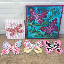 Butterflies Decor for Sale in Balch Springs,  TX