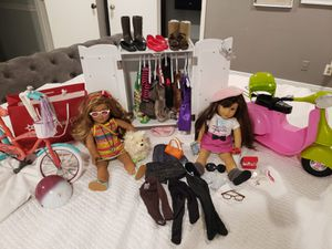 American girl dolls and accessories for Sale in Palm Harbor, FL