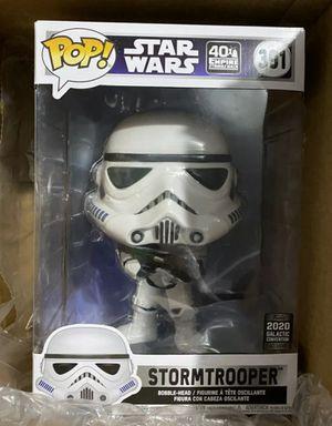 "Funko Pop Star Wars 10""inch STORMTROOPER 2020 Galactic Convention Target Exclusive Vinyl Figure for Sale in San Diego, CA"
