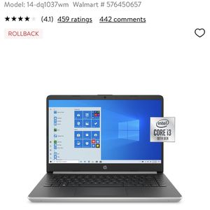 """HP 14"""" Laptop Brand New for Sale in Fircrest, WA"""