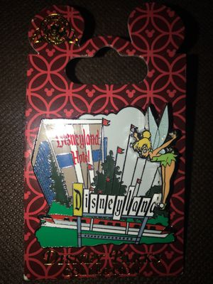 pin disney parks collection disneyland hotel tinkerbell for Sale in Las Vegas, NV