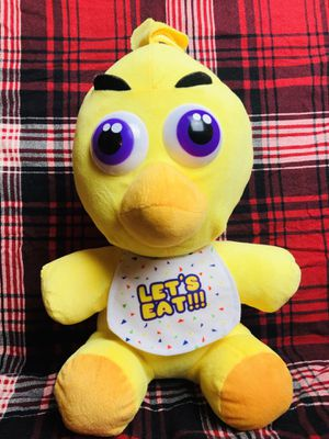 FNAF Five Nights at Freddy's Chica Large Plush toy for Sale in Santa Ana, CA
