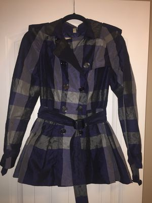 Burberry jacket women's size USA 2 for Sale in San Diego, CA