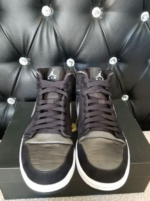 """Jordan Mid Black """"Nylon"""" 1s for Sale in Pasadena, CA"""