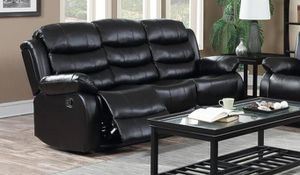 GT Black Recliniyffng Sofa | U9600 for Sale in Ellicott City, MD