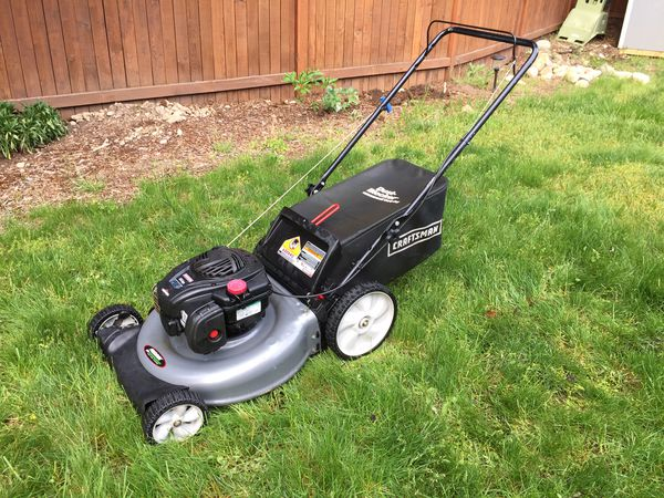 Craftsman - 5.0 Engine Torque Rear Bag Push Mower