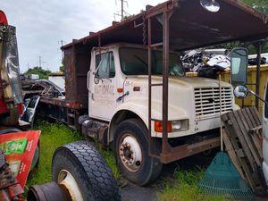2000 International Flatbed Platform Truck PTO Air Compressor 44k miles non CDL for Sale in Philadelphia, PA