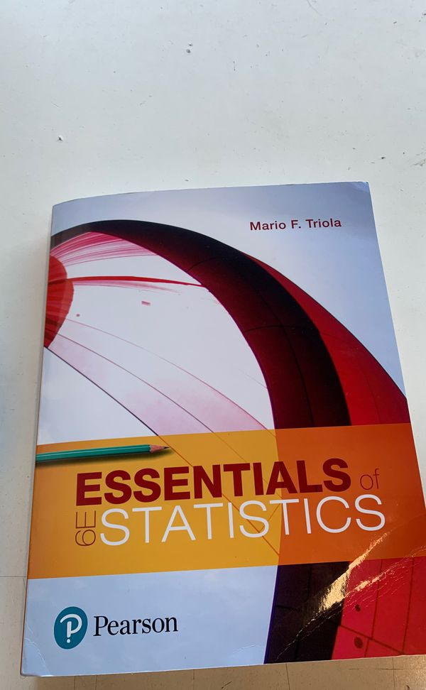 Statistics book for sale like new (no access code)