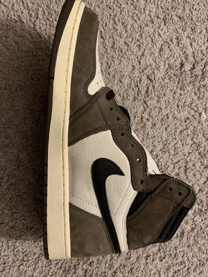 DS New Nike Travis Scott Jordan 1 High size 10.5 for Sale in Garden Grove, CA
