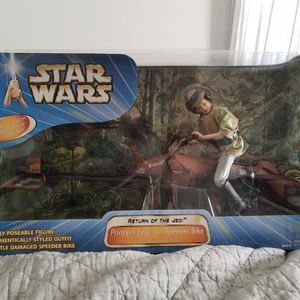 Princess Leia On Speeder Bike Hasbro 2003 Star Wars for Sale in Smithtown, NY