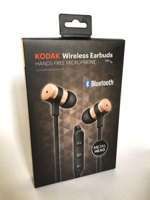 Kodak wireless pink rose gold headphones Brand new Bluetooth for Sale in Los Angeles, CA