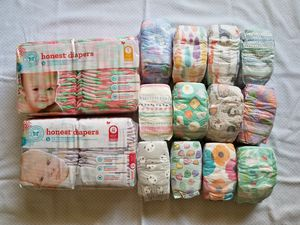Honest Company Diapers Size Newborn and Size 1 for Sale in Torrance, CA