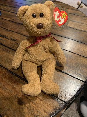 Curly Ty Beanie Baby with errors for Sale in Newtown, PA