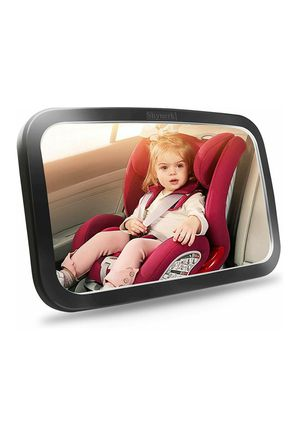 (W37) Shynerk Baby Car Mirror, Safety Car Seat Mirror for Rear Facing Infant with Wide Crystal Clear View, Shatterproof, Fully Assembled for Sale in Industry, CA