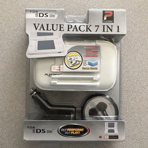 Nintendo DS Lite Value Pack 7 in 1 (White) for Sale in Visalia, CA