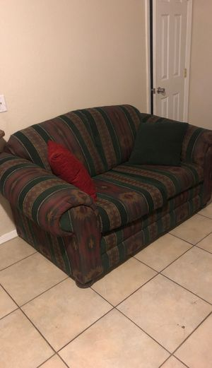 Two piece couch have to pick up for Sale in Phoenix, AZ