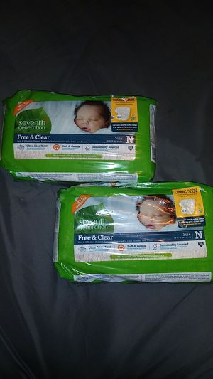 Seventh Generation Diapers for Sale in Lincoln Acres, CA
