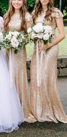 Gold Shimmer Maxi Dress, Size Small. Bridesmaid/Prom Dress for Sale in Battle Ground, WA