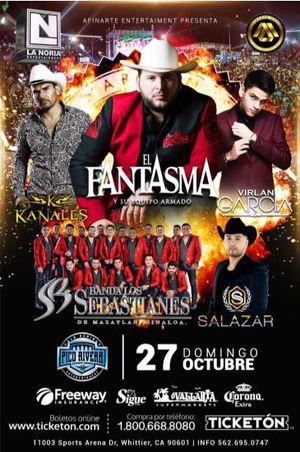 El Fantasma boleto for Sale in Hesperia, CA