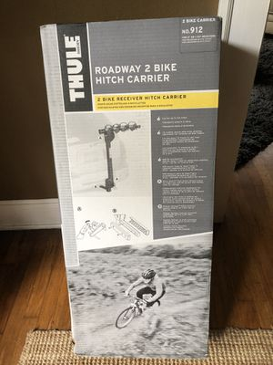 Car Bike Rack by:Thule Roadway 2 Bike Hitch Carrier brand new for Sale in Atlanta, GA