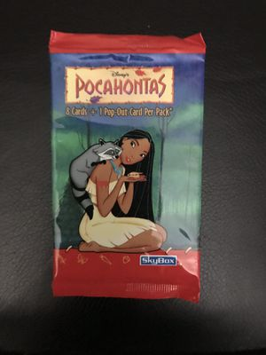 3- Brand-New Unopened Packs Of Pocahontas Skybox Cards for Sale in Austin, TX