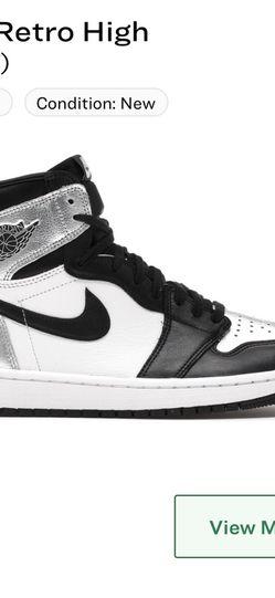 Jordan 1 High Silver Toe for Sale in Cranford,  NJ