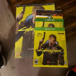 Cyberpunk 2077 Xbox One with strategy guide for Sale in Puyallup, WA