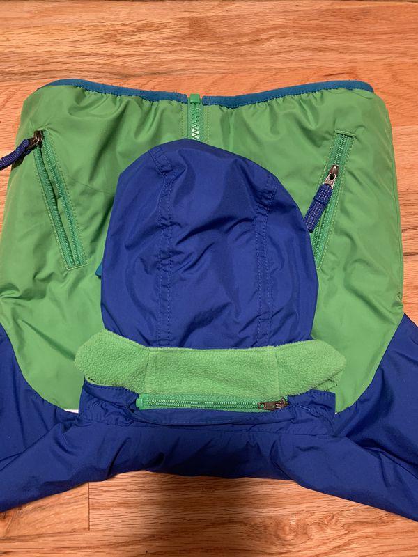 Kids 12M Patagonia Reversible Jacket/Fleece with removable Hoodie