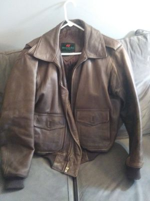 New Abercrombie & Fitch leather jacket size medium for Sale in Morristown, NJ