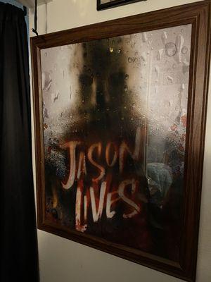 Jason Voorhees Poster Framed for Sale in Garden Grove, CA