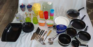 Kitchen Pans Pots Cups Plates for Sale in San Diego, CA
