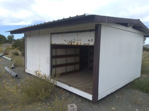 16'x16'x8' SECURE STEEL GARAGE/SHED for Sale in Upland, CA