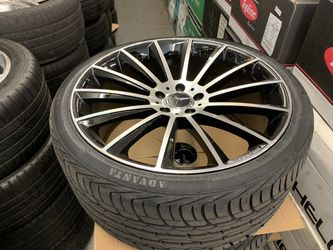 """Mercedes 20"""" Amg Style Rims Tires Set for Sale in Hayward,  CA"""