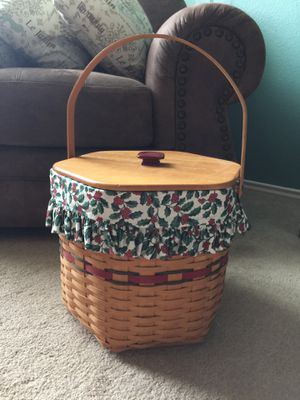 Large Longaberger Basket for Sale in Cibolo, TX