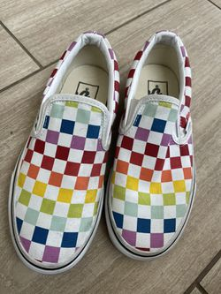 Girl's Checkered Vans Size 3.5  for Sale in Huntington Beach, CA