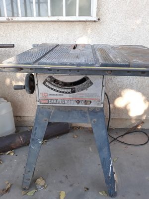 Craftman table saw for Sale in Hesperia, CA