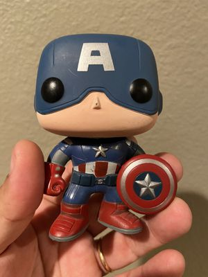 OOB Avengers Captain America Funko Pop for Trade or Sale. for Sale in Lake Elsinore, CA