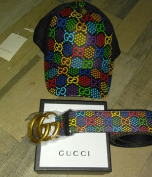 2020 Gucci hat/Gucci belt for Sale in Greenbelt, MD