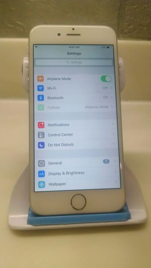 UNLOCKED APPLE IPHONE 6 128GB NOT A PLUS MODEL TMOBILE ATT VERIZON METRO CRICKET AND WORLD USE for Sale in Lansing, IL