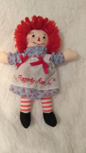 RAGGEDY ANN DOLL for Sale in Riverside, CA
