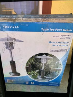 Brand new table top patio heater 65 only for Sale in Plant City, FL