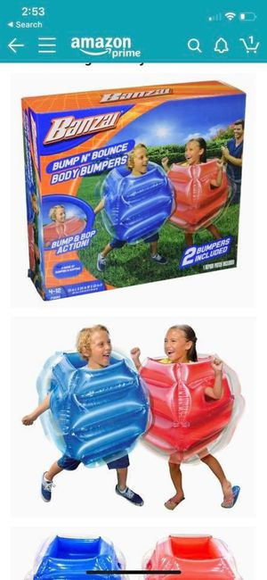 BUMP N' BOUNCE BODY BUMPERS New in box kids fun for Sale in Fremont, CA