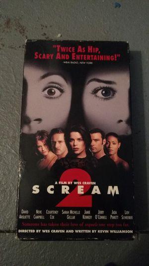 Scream 2 vhs for Sale in Missoula, MT