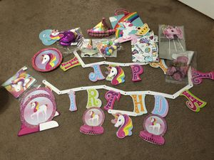 Unicorn Party Supplies for Sale in Morrisville, NC