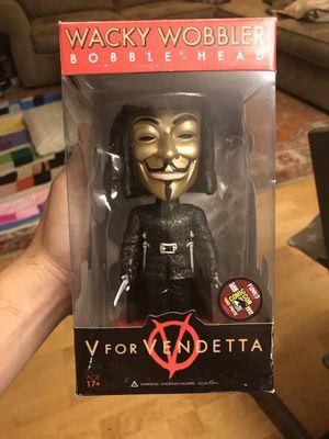 Metallic Wacky Wobbler Funko SDCC V for Vendetta for Sale in Los Angeles, CA