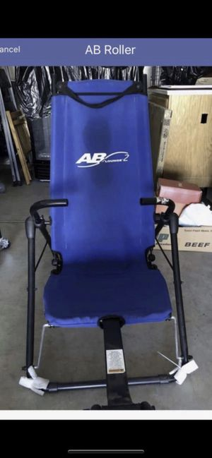 AB roller exercise machine for Sale in Modesto, CA