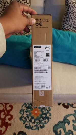 Lenovo idepad 15.6 ONYX BLACK LAPTOP NOTEBOOK BRAND NEW for Sale in Roosevelt, NY